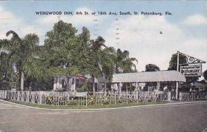 Florida St Petersburg The Wedgewood Inn