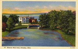 MI - Petoskey. Mineral Well Park