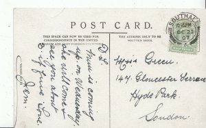 Genealogy Postcard - Ancestor History - Green - Hyde Park - London    BH5884