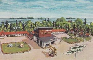 GANANOQUE, Ontario, Canada, 1940-60s; Gateway Motel, 1000 Islands