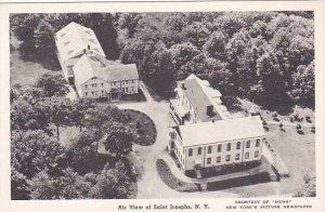 New York Saint Joseph Air View At Saint Josephs Albertype