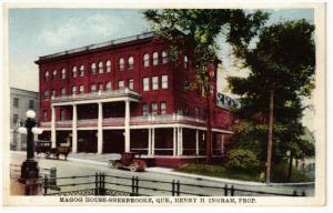SHERBROOKE, Quebec, Canada, 1900-1910's; Magog House, Henry H. Ingram, Horse ...