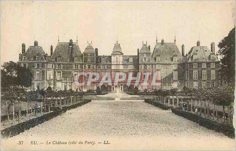 Postcard Old Chateau (C?te du Parc) Eu