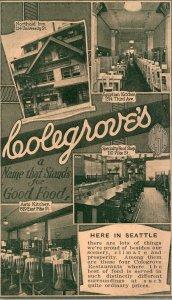 Washington Seattle Colegrove's Restaurants