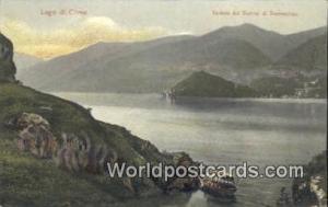 Lago di Como Swizerland, Schweiz, Svizzera, Suisse Veduta del Bacino di Treme...