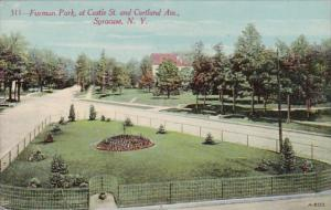 New York Syracuse Furman Park At Castle Street and Cortland Avenue