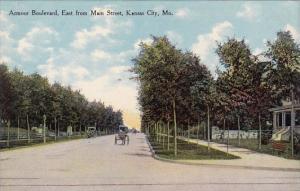 Missouri Kansas City Armour Boulevard East From Main Street