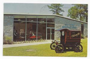 GA Stone Mountain Antique Auto Museum 1904 Oldsmobile Truck Vntg 1960 Postcard