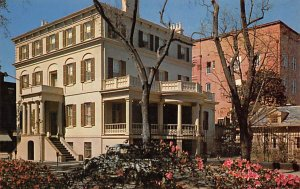 Scouts Post Card Birthplace Juliette Gordon Low, Founder of Girl Scouting Sav...