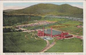 Virginia Rayon Terrace Industrial Rayon Corporation Rayon Terrace And Covingt...