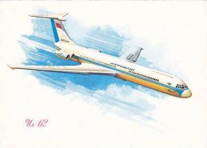 Aeroflot  Airlines IL-62 airplane , 1967