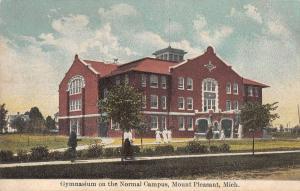 Mt Pleasant Michigan gymnasium Normal Campus antique pc Z11789