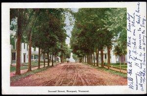 Vermont NEWPORT Second Street - pm - Und/B
