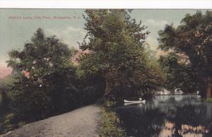 Jaddy's Lake, City Park, Bridgeton, New Jersey, PU-1907