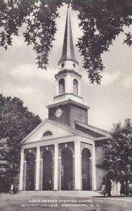 North Carolina Greensboro Bennett College Annie Merner Pfeiffer Chapel Artvue