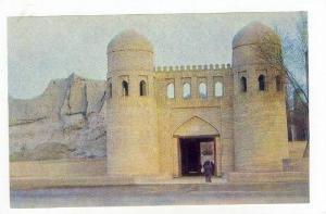 Khiva, Uzbekistan, 50-60s Ichan-kala western gates