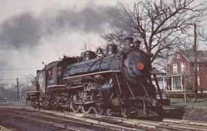 Steam Train Engine Erie 2544 Class K1 Pacific at Spring Valley NY New York 1933