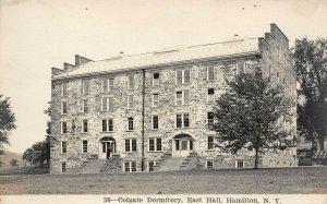 LP56   RPPC  Hamilton New York Colgate Dormitory East Hall  Vintage Postcard