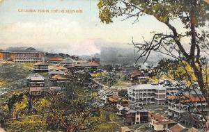 Culebra Cut Panama View from the Reservoir Antique Postcard J78005