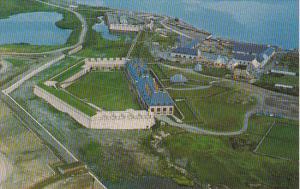 Canada Fortress Louisbourg Cape Breton Nova Scotia