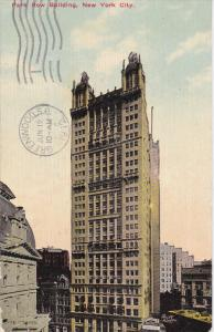 Park Row Building, NEW YORK CITY, New York, PU-1912