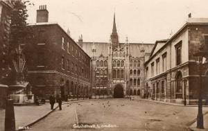 UK Guildhall London Real Photo 01.52