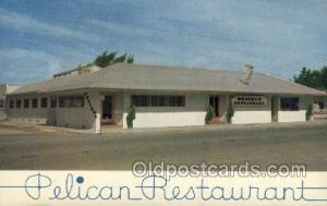 Clearwater Beach Florida USA Pelican Restaurant Old Vintage Antique Postcard ...