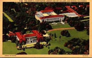 California San Marino The Henry E Huntington Library and Art Gallery 1949 Cur...