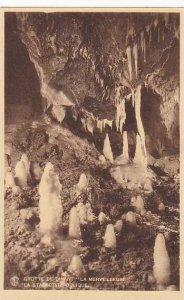Belgium Dinant Grotte La Merveilleuse La Stalactite Oblique