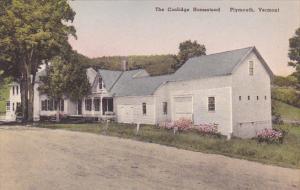 The Coolidge Homestead Plymouth Vermont Albertype