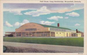 Kentucky Morganfield Field House Camp Breckinridge Curteich