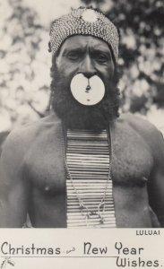 LULUAI , Village headman , New Guinea , 1930s