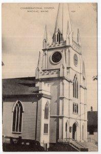Machias, Maine, Congregational Church