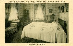 MA - Northampton. Wiggins Old Tavern & Hotel Northampton, Corner Bedroom