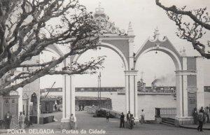 RP: PONTA DELGADA, Portugal, 1930's; Portas da Cidade