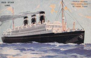 RED STAR Ocean Line , 00-10s ; Ocean Liner BELGENLAND