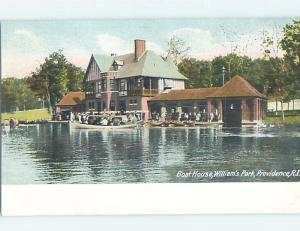 Pre-1907 PARK SCENE Providence Rhode Island RI hp9878
