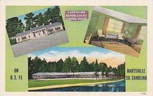 South Carolina Hartsville Lake Shore Motor Court Coffee House