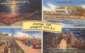Greetings from Atlantic City, N. J., USA in Atlantic City, New Jersey