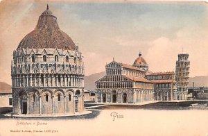 Pisa Battiestero e Duomo Italy Unused