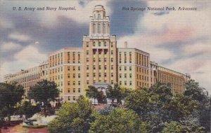 U S Army And Navy Hospital Hot Springs National Park Arkansas
