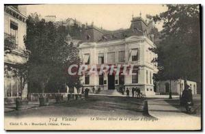 Postcard Old Bank Hotel Vienna The new Caisse d & # 39Epargne