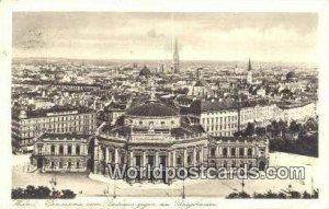 Rathaus gegen das Brugtheatre Wien - Vienna Austria 1929