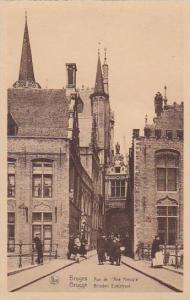 Belgium Bruges Rue de l'Ane Aveugle