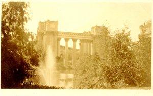 CA - San Francisco. Panama-Pacific Exhibition, 1915. Palace of Fine Arts  *RPPC