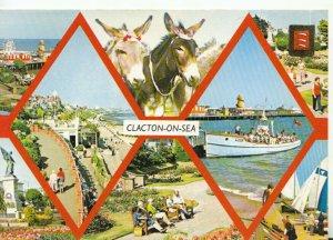 Essex Postcard - Views of Clacton-on-Sea - Ref TZ8921