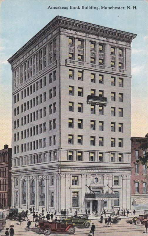 MANCHESTER , New Hampshire , 1900-10s ; Amoskeag Bank Building