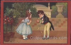E. Columbo (Italy) Artist Signed Postcard Postcards Series 2163 E. Columbo (I...