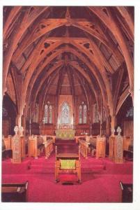 Interior St Paul´s cathedral, Wellington, New Zealand 60-70s