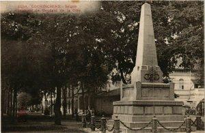 CPA AK INDOCHINA Saigon Monument de Doudard VIETNAM (956652)